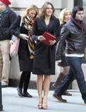 Блейк Лайвли, фото 4846. Blake Lively On the set of 'Gossip Girl' in Manhattan - March 5, 2012, foto 4846