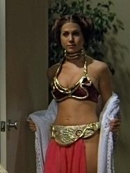 Jennifer Aniston as Princess Leia from Friends (3MB animated gif)