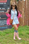 Michelle Keegan at the V Festival in Staffordshire 18th August x20