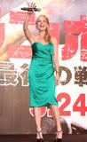 Actress Julie Benz attends the Rambo Japan Premiere in Tokyo, Japan